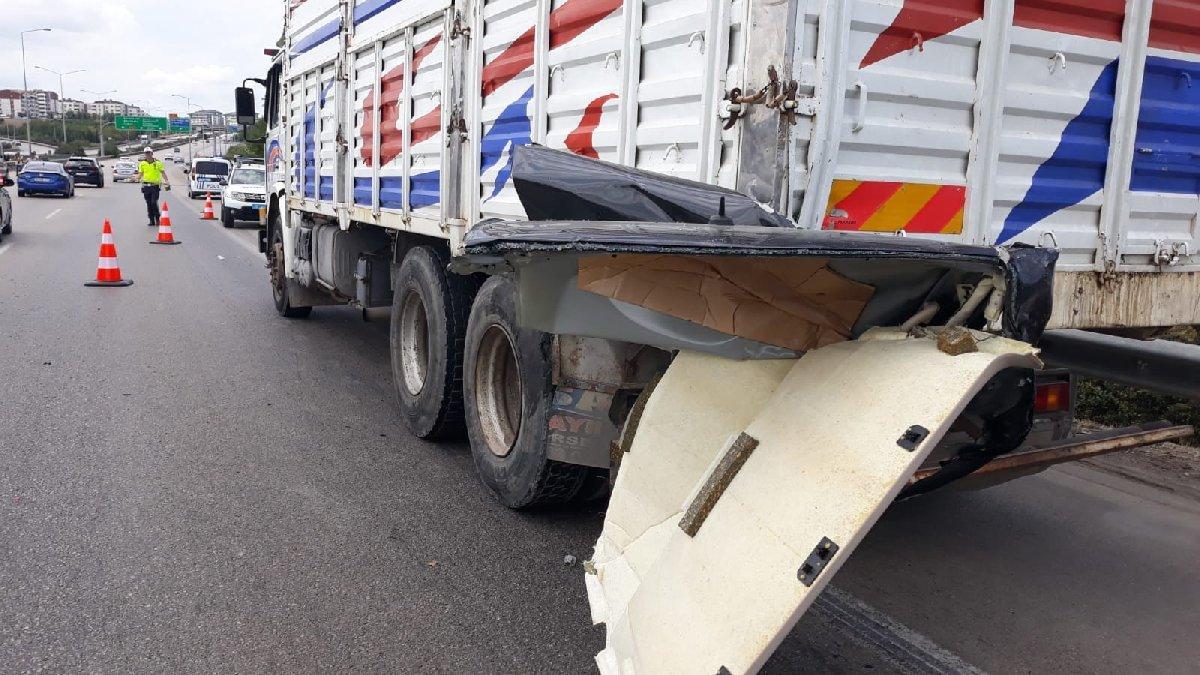 Bursa'da dehşet veren kaza: 1 ölü, 2 yaralı
