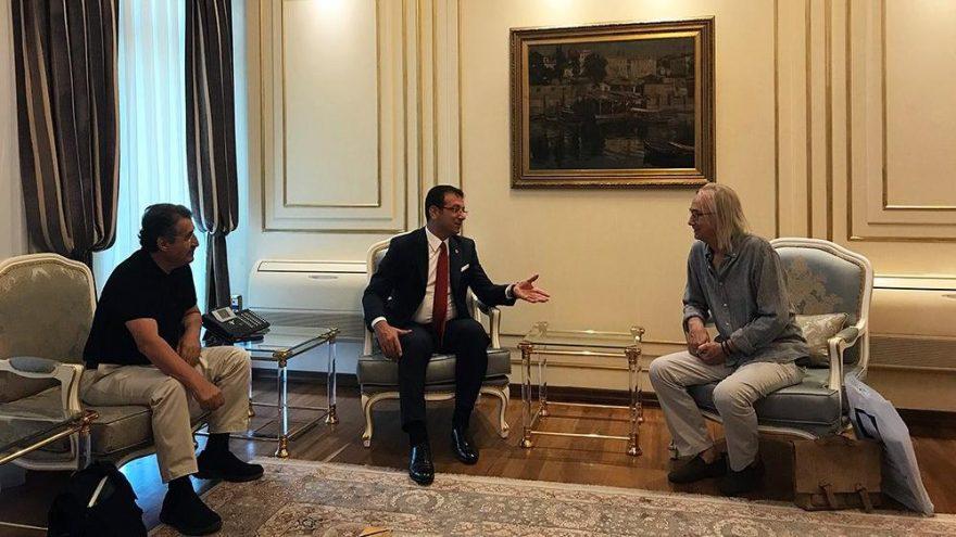 Mimarlar ve gazetecilerden İBB Başkanı İmamoğlu'na ziyaret
