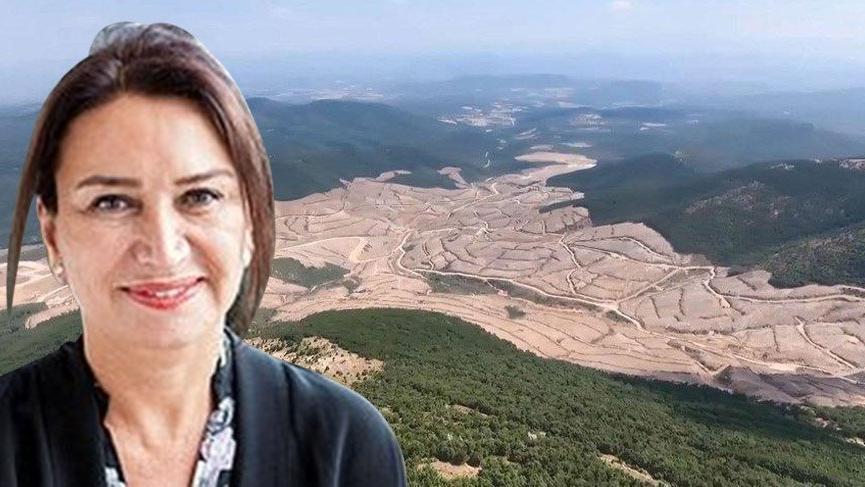 Demet Akbağ'dan 'Kaz Dağları' paylaşımı