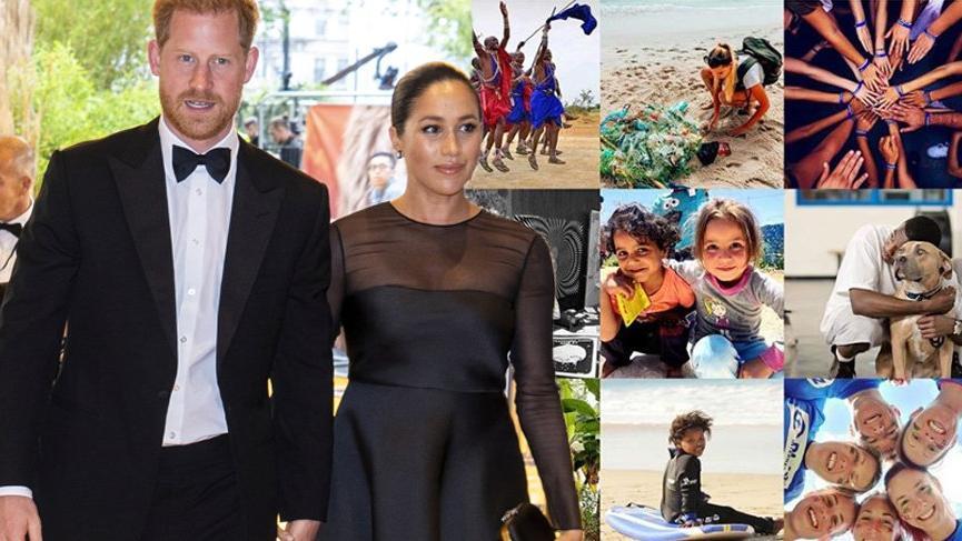Meghan Markle ve Prens Harry, Global Wellness Day'e destek verdi