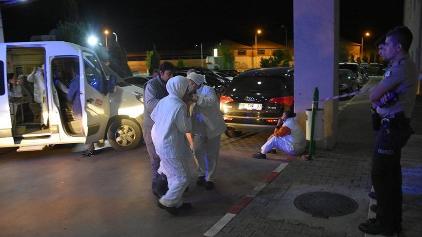 İzmir'de amonyak gazından zehirlenen 25 işçi hastanelik oldu