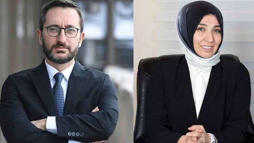 Fahrettin Altun ve eşiyle ilgili çifte maaş haberlerine erişim engeli