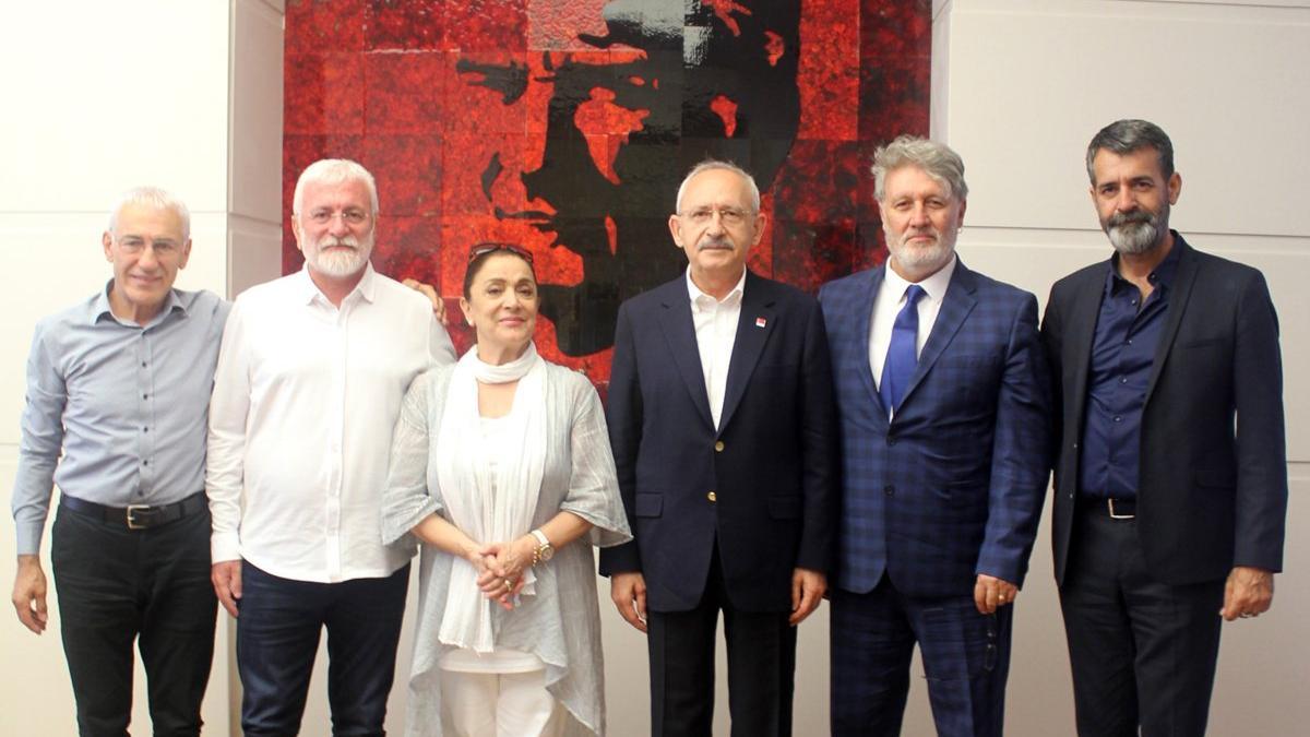MÜYORBİR yöneticilerinden Kılıçdaroğlu'na ziyaret