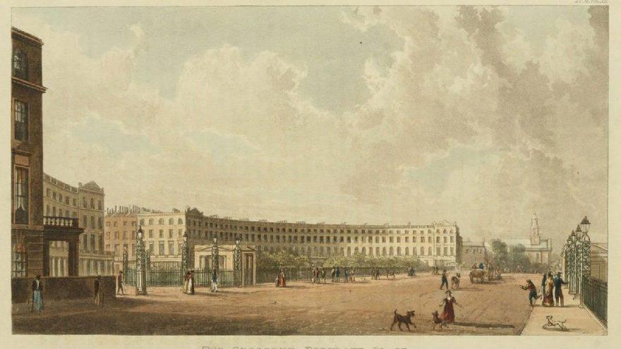 Gülper Özdemir Kraliyet Ailesi'ne ait Regent Crescent Sarayı'nın yüzü oldu