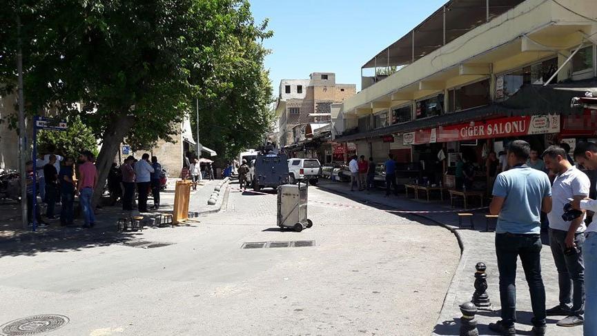 Şanlıurfa kent merkezinde canlı bomba yakalandı
