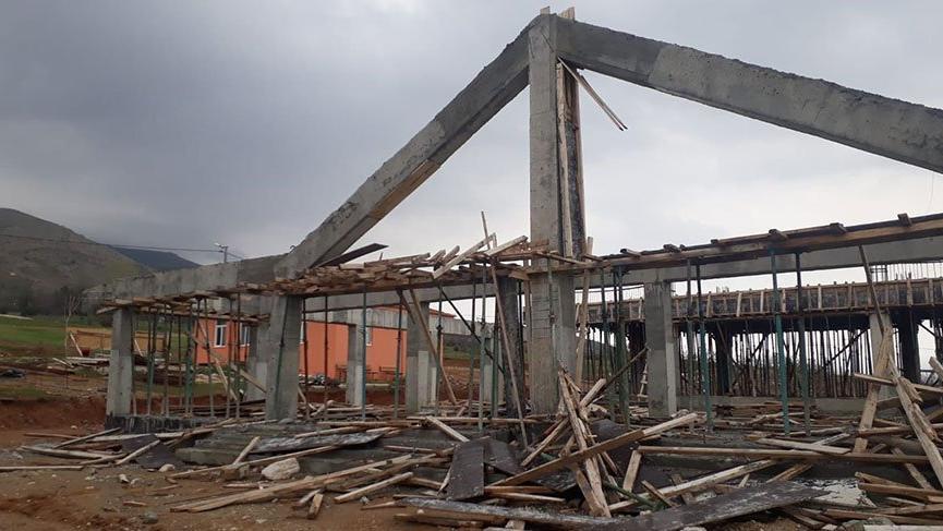 Fethi Sekin'in adını taşıyan külliyenin inşaatı durdu, alacaklılar ortada kaldı