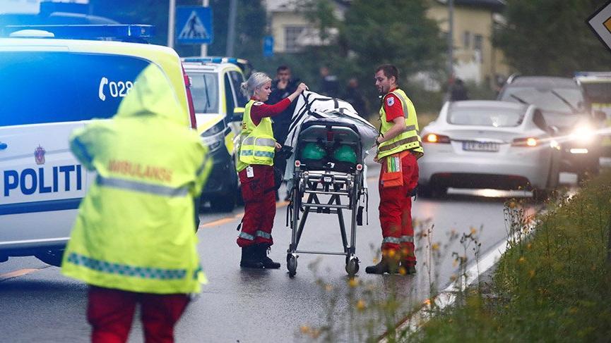 Son Dakika... Norveç'te camide silahlı saldırı: 1 yaralı