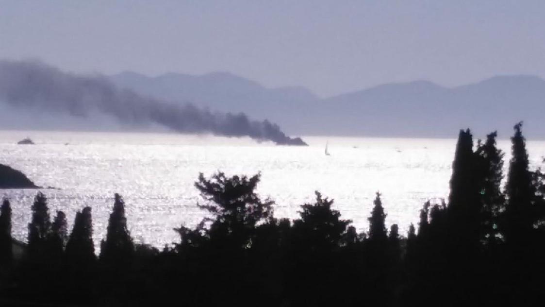 Bodrum'da tekne yandı! 6 kişi kurtarıldı