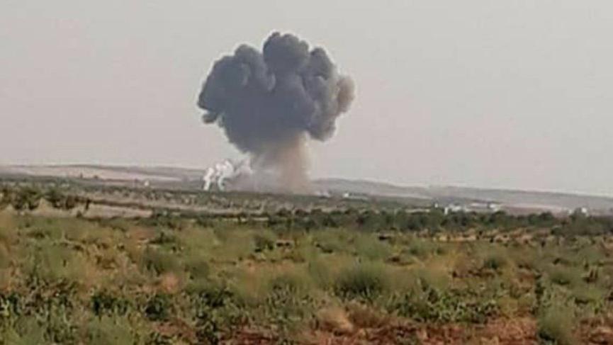 İdlib'de Suriye ordusuna ait savaş uçağı düşürüldü iddiası!