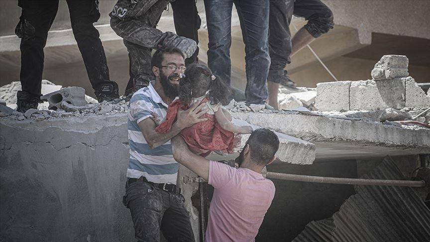 İdlib'de yine siviller hedef alındı: 10 ölü