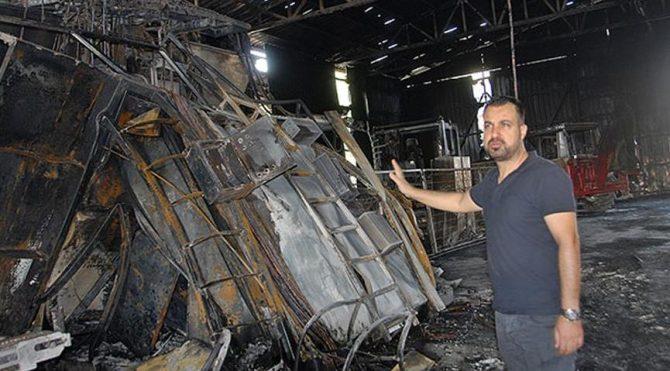Diyarbakır'da fabrika yangını!