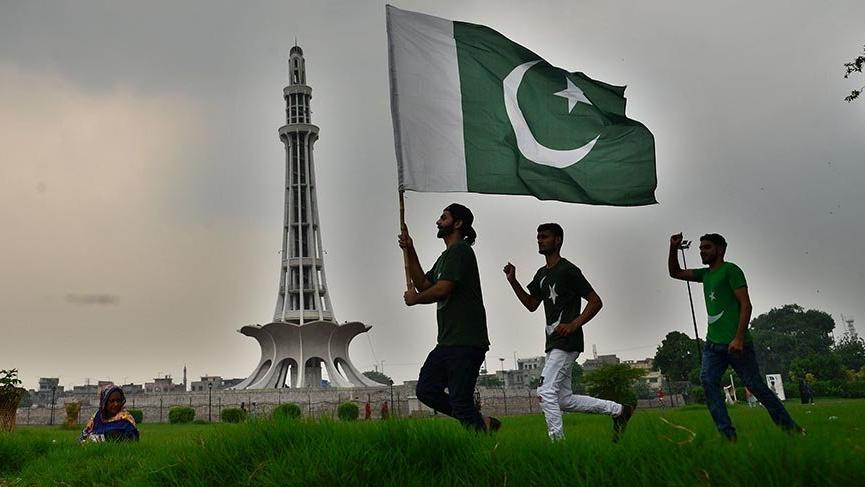 Pakistan'ın ulusal sembolü Minare Pakistan