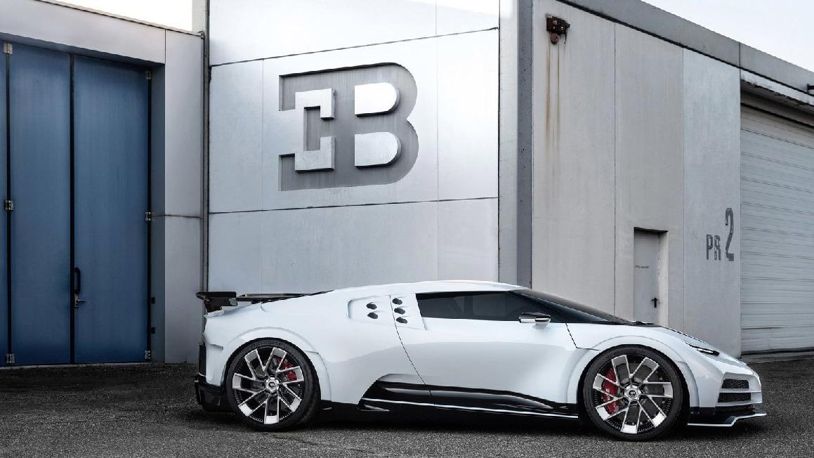 Bugatti 110. yılına özel olan otomobilini tanıttı!