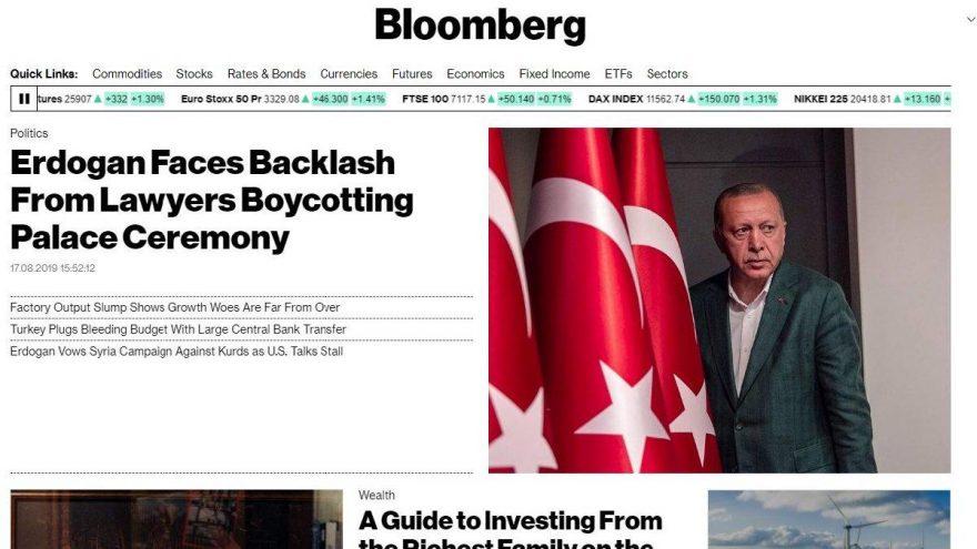 Son dakika… Baroların kararı ABD basınında manşet oldu