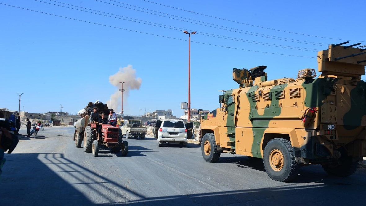 Suriye'de Türk askeri konvoyuna saldırı: Üç sivil hayatını kaybetti