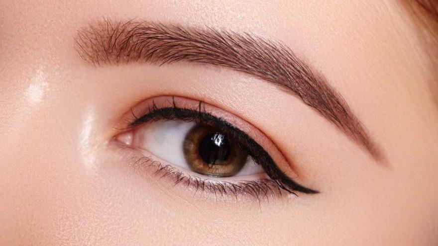 Bant ile eyeliner nasıl çekilir?
