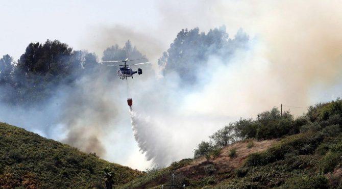 İspanya'da 9 bin kişi yangın yüzünden yerinden oldu!