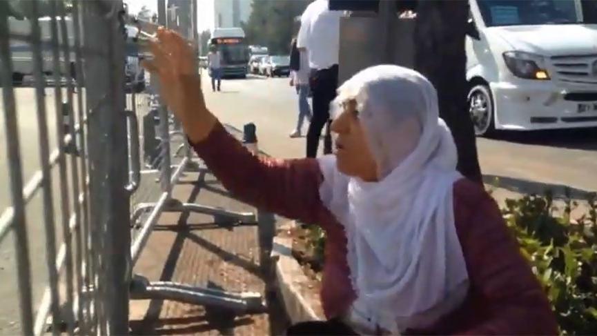 Diyarbakırlı kadından kayyum protestosu: Zıkkım olsun