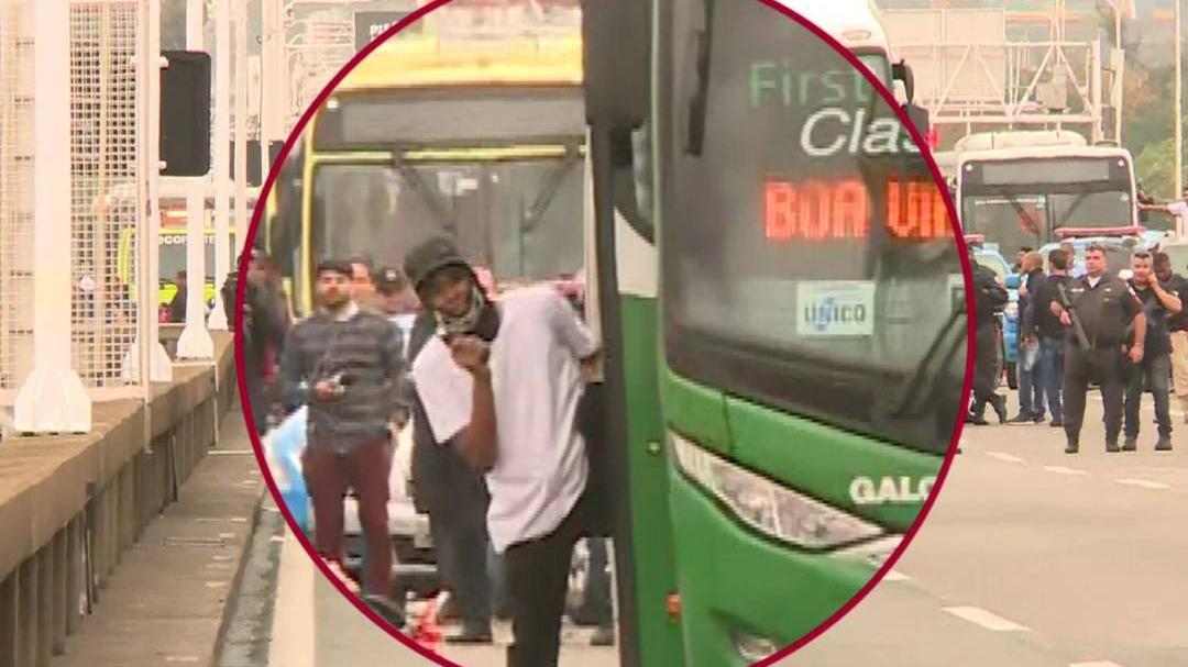 Brezilya'da otobüs kaçırıldı: Rehineler var