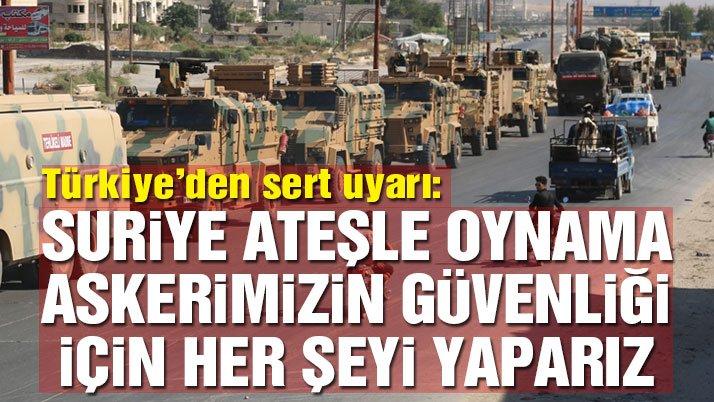 Dışişleri Bakanı Çavuşoğlu: Askerlerimizin güvenliği için her şeyi yaparız