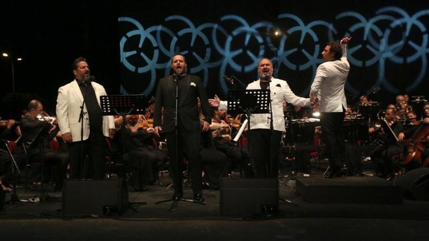 Bodrum Antik Tiyatro'da '3 Tenor' konseri