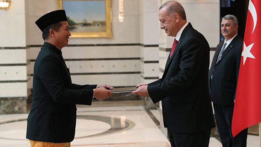 Cumhurbaşkanı Erdoğan'a güven mektubu!