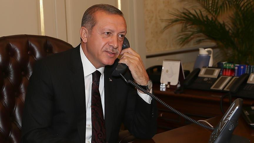 Kritik dakikalarda Erdoğan'dan kritik telefon