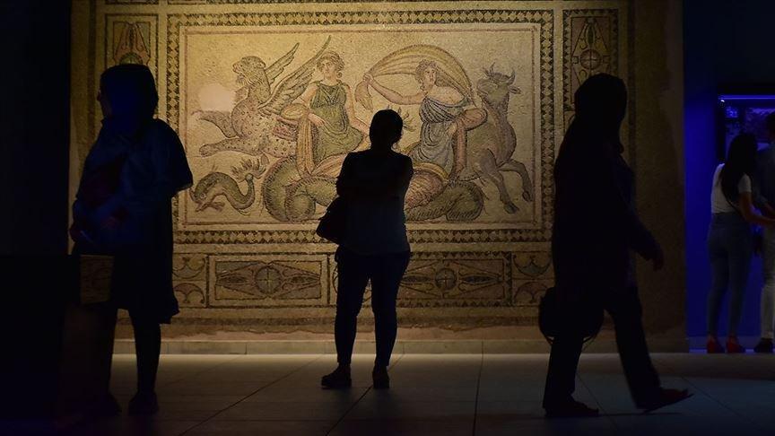 Zeugma Mozaik Müzesi'nden ziyaretçi rekoru