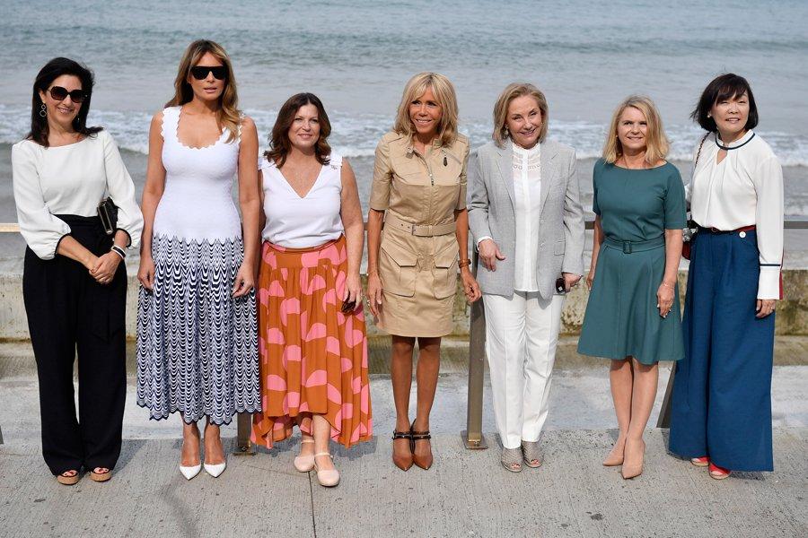 G7 Zirvesi Ne First Lady Lerin Rukuslugu Damga Vurdu Moda Haberleri
