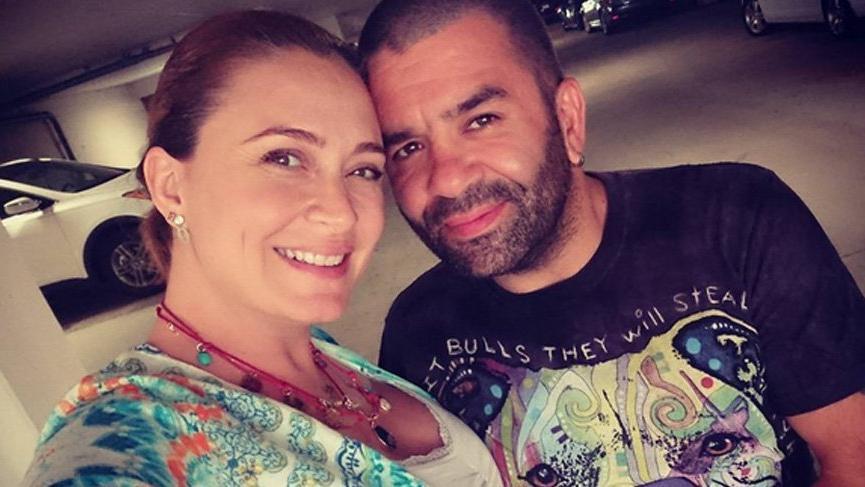 Ceyda Düvenci eşi Bülent Şakrak'ın doğum gününü kutladı