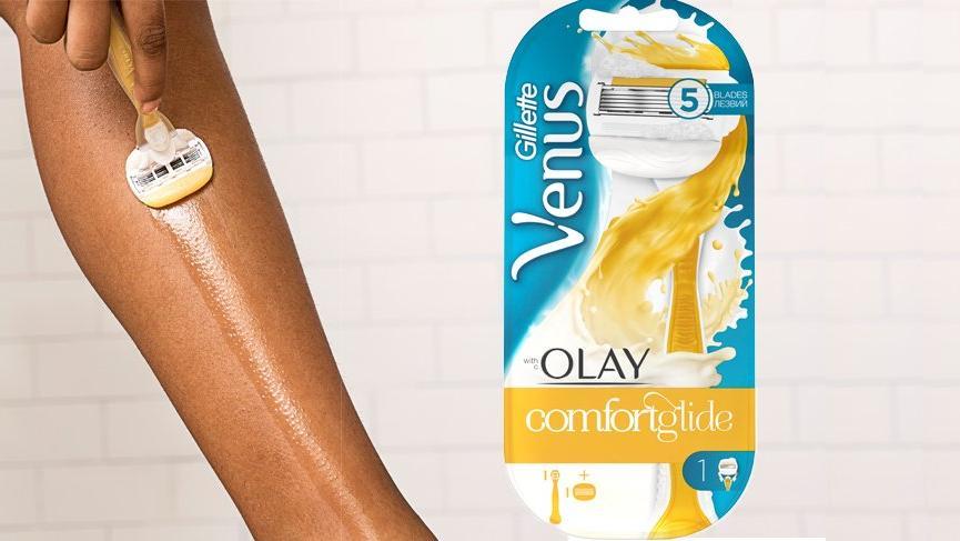Gillette Venus Comfortglide Olay ile konfor ve ipeksi pürüzsüzlük bir arada