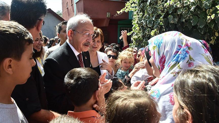 Şile'de vatandaşlarla buluşan Kılıçdaroğlu'ndan Erdoğan'a 'İstanbul' yanıtı