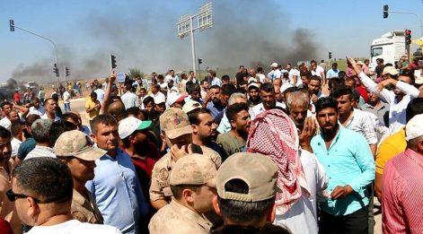 Çiftçiler pamuk fiyatına isyan etti! Yol kesip ateş yaktılar