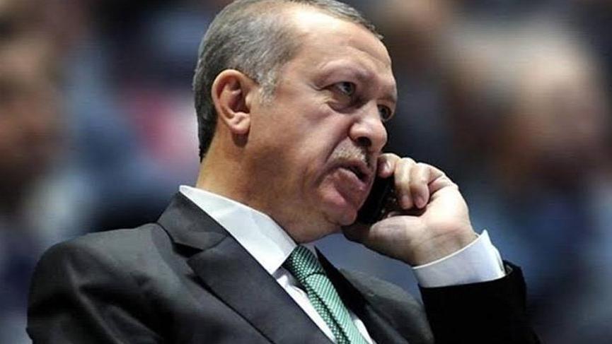 Son dakika... Erdoğan ABD Başkanı Trump'la görüştü