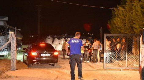 Asfalt fabrikasında patlama: 4 işçi yaralı