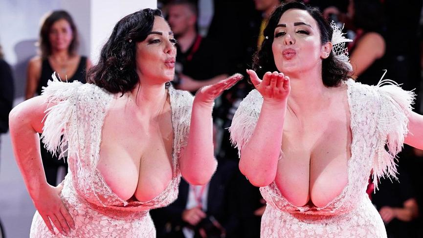 76. Venedik Film Festivali kırmızı halısına Francesca Giuliano damgası