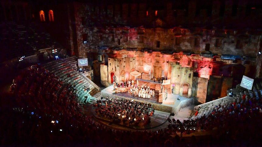 26. Uluslararası Aspendos Opera ve Bale Festivali 'Carmen' ile başladı
