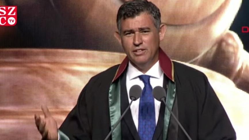 2019-2020 Adli Yıl Açılış Töreni'nde ilk konuşmayı Metin Feyzioğlu yaptı