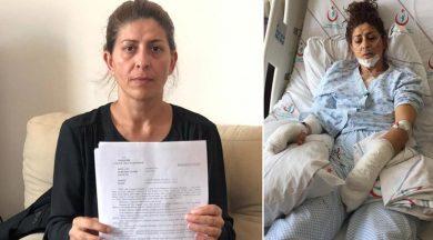 Eşini 15 yerinden bıçakladı serbest kaldı!