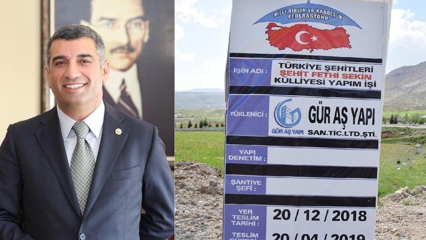 CHP'li belediye yarım kalan külliyeyi tamamlayacak
