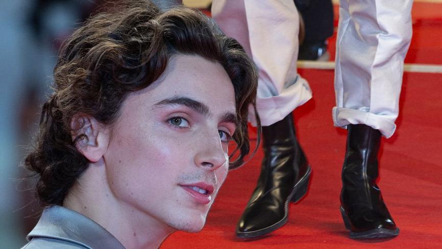 Timothee Chalamet'nin ilginç tarzı 76. Venedik Film Festivali'ne damga vurdu