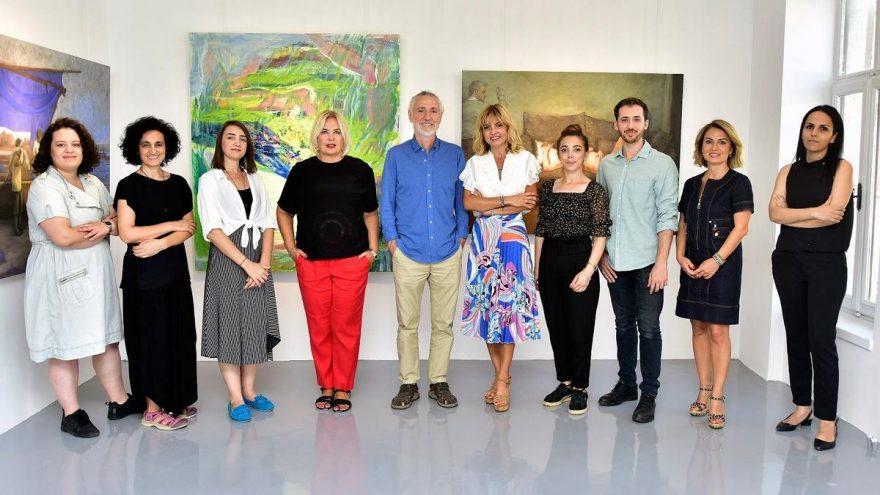 Genç sanatçıların eserleri Artweeks@Akaretler'de