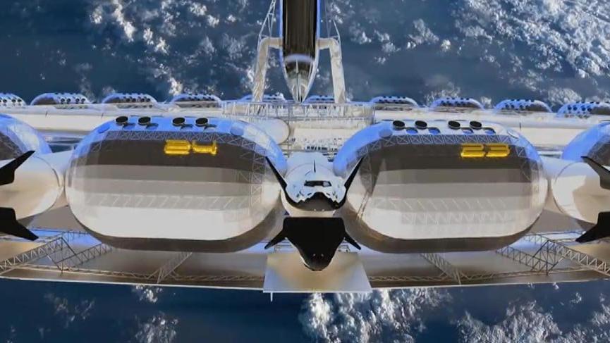 Dünyanın ilk yapay yer çekimli uzay oteli 2025´te açılacak