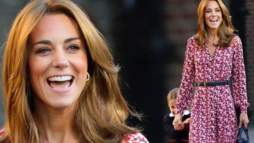 Prens George ile okula başlayan Prenses Charlotte'a 'Kardeş indirimi' yapıldı