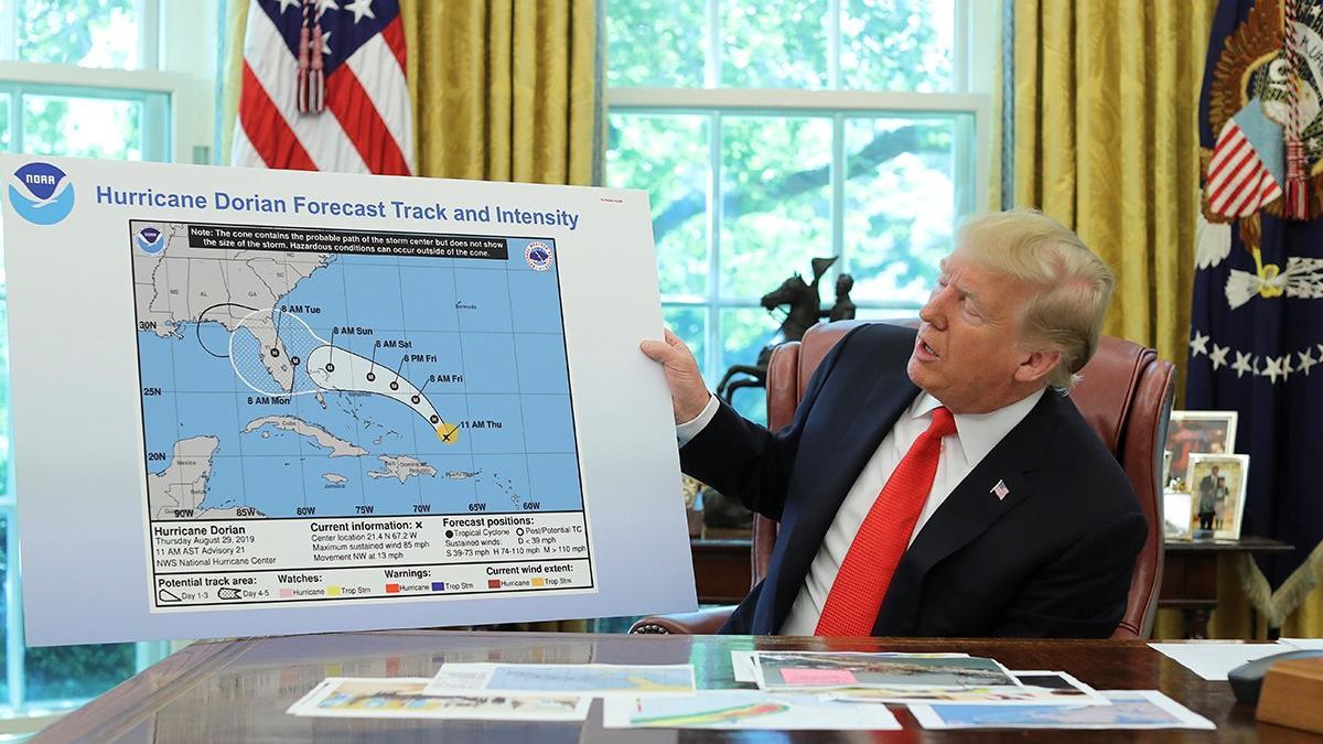 Trump'tan harita skandalı: Yaptığı resmen suç!