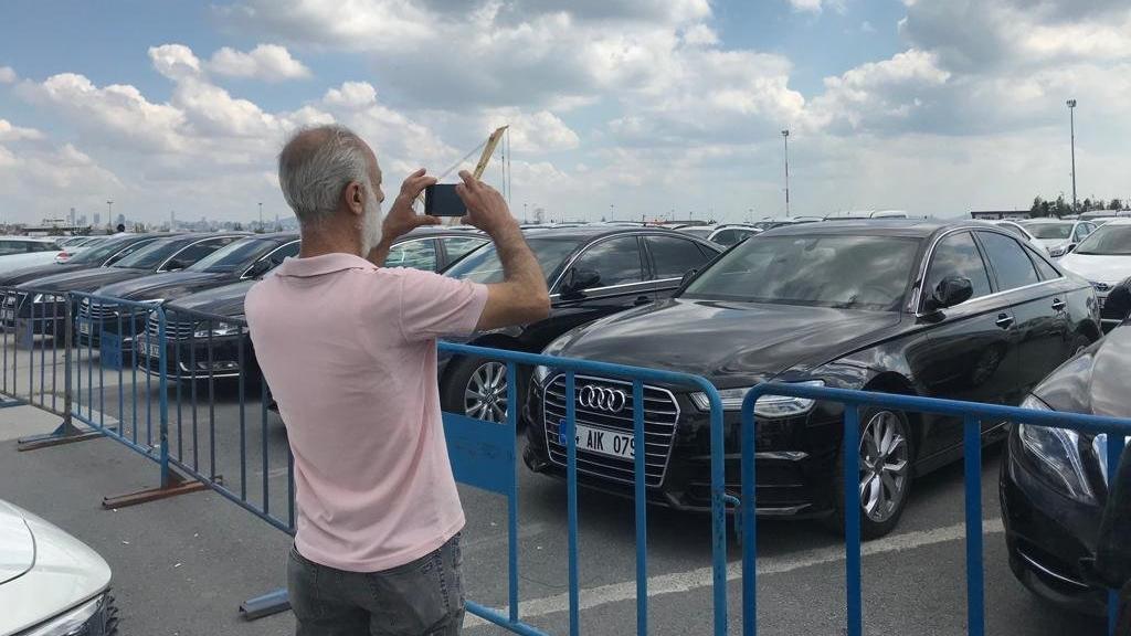 Yenikapı'daki araç sergisi açık hava müzesine döndü!
