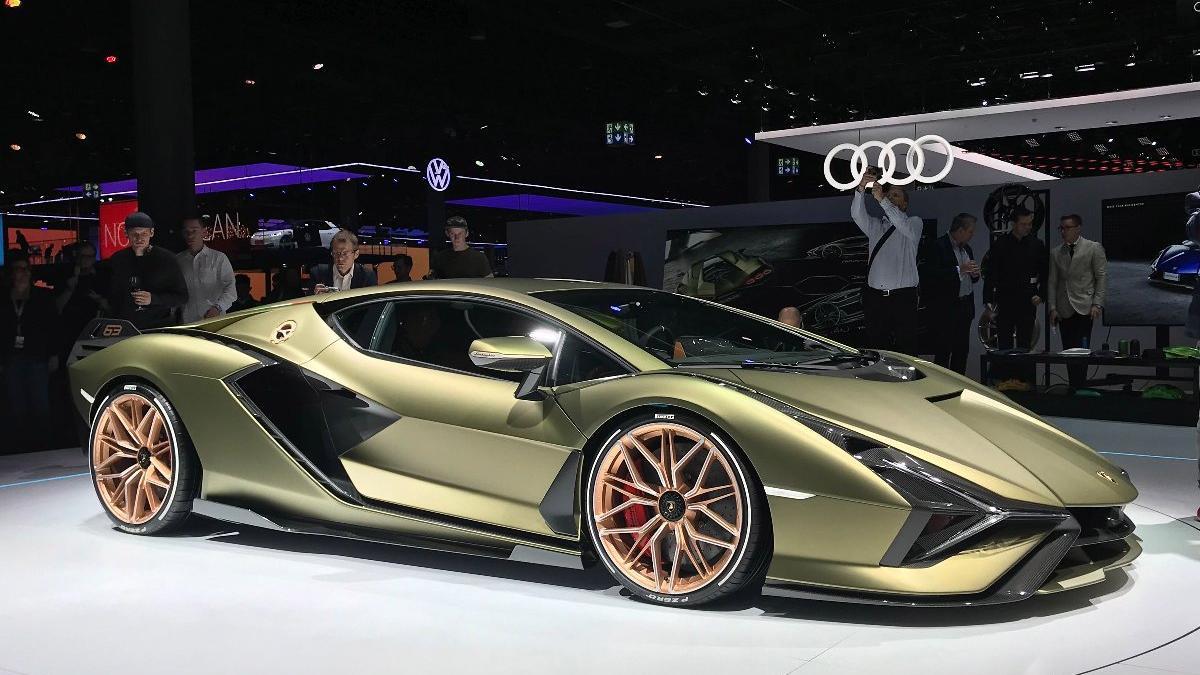 Lamborghini, Sian modelini görücüye çıkardı!