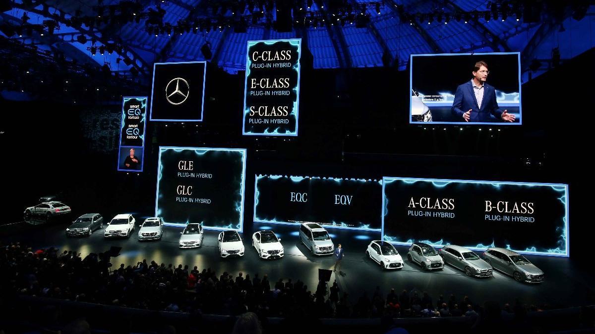 Mercedes'in geleceği Frankfurt'ta sergileniyor