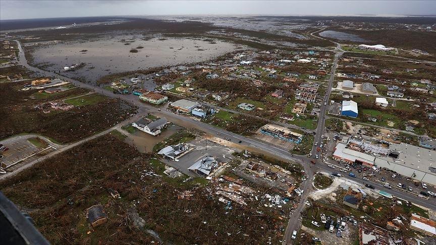 Dorian Kasırgası'nda ölenlerin sayısı 50'yi aştı