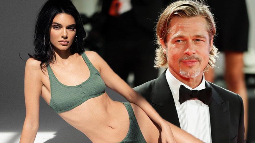 Kendall Jenner Brad Pitt hakkında ilginç bir itirafta bulundu